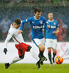 Andy Halliday attacks