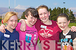 Roisin Clifford, Aoife McSweeney, Katie Horgan and Ava Wilkins who competed at the Milltown/Listry Community Games in Milltown GAA pitch on Saturday...