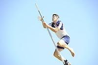 FIERLEPPEN: GRIJPSKERK: 20-08-2016, ROC Friese Poort Competitie, Oane Galama wint met 20.67 meter, ©foto Martin de Jong