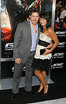 "HOLLYWOOD, CA. - August 06: Ray Park and wife Lisa arrive at a special screening of ""G.I. Joe: The Rise Of The Cobra"" on August 6, 2009 in Hollywood, California."