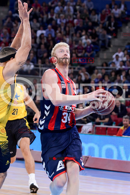 Baskonia's Chase Budinger during Quarter Finals match of 2017 King's Cup at Fernando Buesa Arena in Vitoria, Spain. February 16, 2017. (ALTERPHOTOS/BorjaB.Hojas) /Nortephoto.com