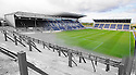 Morphed image of old Brockville Park with the new Falkirk Stadium ...