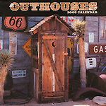 Published photography by Larry Angier..Outhouses 2005 Calendar cover, Cedco Publishers