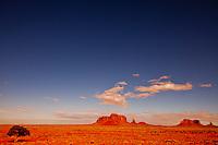 Standing Alone in the Desert