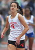 Ellen Byrnes of Sacred Heart Academy legs out a victory in the girls 400 meter dash during the Nassau-Suffolk CHSAA track and field league championships at St. Anthony's High School on Saturday, May 20, 2017. She posted a time of 58.36 the event. She also won the girls 400 meter hurdles (1:04.72).