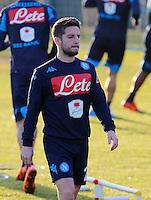 Dries Mertens <br /> Allenamento del Napoli nel centro sportivo di CastelVolturno