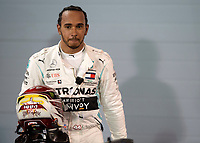Lewis HAMILTON (GBR) (MERCEDES-AMG PETRONAS MOTORSPORT) after the Bahrain Grand Prix at Bahrain International Circuit, Sakhir,  on 31 March 2019. Photo by Vince  Mignott.