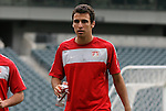 28 May 2010: Jonathan Bornstein. The United States Men's National Team held a practice session at Lincoln Financial Field in Philadelphia, Pennsylvania the day before playing Turkey in their final home friendly prior to the 2010 FIFA World Cup in South Africa.