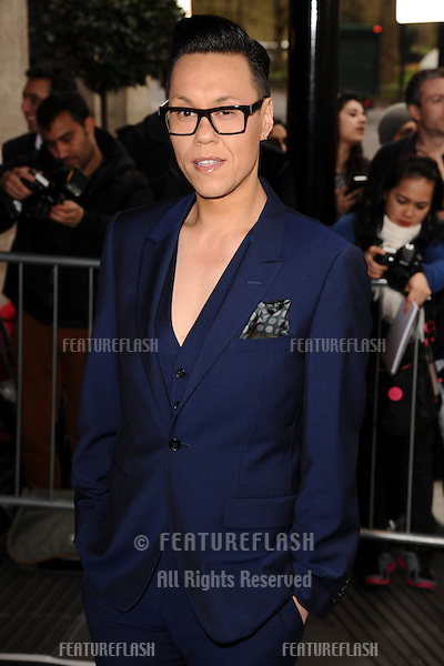 Gok Wan arrives for The Asian Awards 2014 at the Grosvenor House Hotel, London. 04/04/2014 Picture by: Steve Vas / Featureflash
