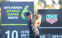 Thorbjorn Olesen (DEN) in action on the 10th during Round 2 of the ISPS Handa World Super 6 Perth at Lake Karrinyup Country Club on the Friday 9th February 2018.<br /> Picture:  Thos Caffrey / www.golffile.ie<br /> <br /> All photo usage must carry mandatory copyright credit (&copy; Golffile | Thos Caffrey)