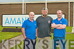 John Dowling, Doon Tralee, Michael Devane, Lispole and Jim Sullivan Haigs Terrace, Tralee devastated by the announcement of the closure of Amann Industries on Friday.