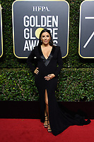 Eva Longoria arrives at the 75th Annual Golden Globe Awards at the Beverly Hilton in Beverly Hills, CA on Sunday, January 7, 2018.<br /> *Editorial Use Only*<br /> CAP/PLF/HFPA<br /> &copy;HFPA/PLF/Capital Pictures