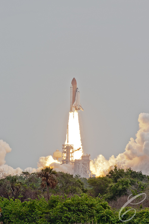 Space Shuttle Atlantis lifts off for the final time  from launch pad 39A at Kennedy Space Center on Friday, July 8, 2011.  Atlantis' mission is the final one of the shuttle program's 30 year history and leaves NASA without manned spaceflight launch capability.