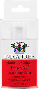90956 Nature's Colors TrueRed Decorating Color, Retail Bottle .75 oz