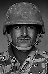 Staff Sgt. Hamood Atala Geitan, 29, Nasiriyah, Driver, 4th Co., 2nd Battalion, 7th Division of the Iraqi Army in Haditha, Iraq on Sun. Nov. 27, 2005.