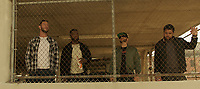 Den of Thieves (2018) <br /> Pablo Schreiber, Curtis Jackson, Evan Jones and O'Shea Jackson<br /> *Filmstill - Editorial Use Only*<br /> CAP/FB<br /> Image supplied by Capital Pictures