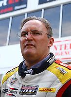 May 17, 2015; Commerce, GA, USA; NHRA top fuel driver Doug Kalitta during the Southern Nationals at Atlanta Dragway. Mandatory Credit: Mark J. Rebilas-USA TODAY Sports