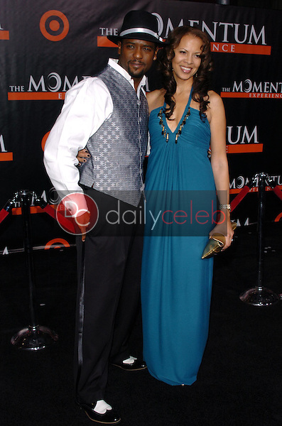 Blair Underwood and wife Desiree<br />