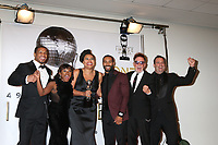LOS ANGELES - JAN 15:  Naturi Naughton, Courtney Kemp Agboh, Omari Hardwick, Mark Canton, Randall Emmett at the 49th NAACP Image Awards - Press Room at Pasadena Civic Center on January 15, 2018 in Pasadena, CA