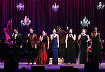 Will and Anthony Nunziata, Bayla Whitten, Laura Osnes, Luke S. Frazier, Lindsay Mendez, Lucia Spina, Amber Iman performing in The American Pops Orchestra '75 Years of Streisand'  at the George Washington University Lisner Auditorium on January 13, 2017 in New York City.