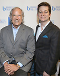 Stewart F. Lane and Ryan Bogner attend BroadwayHD debuted their slate of digital captures with Broadway & Beyond Theatricals at The APAP Conference  on January 912, 2020 at The Hilton Hotel Midtown in New York City.
