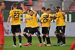 Spiel am 35 Spieltag in der Saison 2019-2020 in der 3. Bundesliga zwischen dem FC Ingolstadt 04 und dem SV Waldhof Mannheim am 24.06.2020 in Ingolstadt. <br /> <br /> Torjubel bei Arianit Ferati (Nr.10, SV Waldhof Mannheim), Michael Schultz (Nr.23, SV Waldhof Mannheim) und Jan-Hendrik Marx (Nr.26, das Tor wird aber nicht gegeben<br /> <br /> Foto © PIX-Sportfotos *** Foto ist honorarpflichtig! *** Auf Anfrage in hoeherer Qualitaet/Aufloesung. Belegexemplar erbeten. Veroeffentlichung ausschliesslich fuer journalistisch-publizistische Zwecke. For editorial use only. DFL regulations prohibit any use of photographs as image sequences and/or quasi-video.
