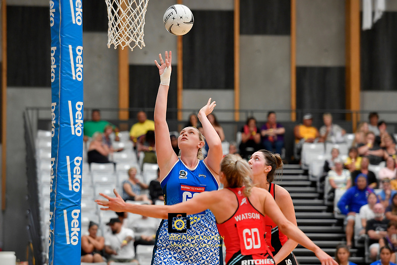 Preseason Tournament - Mystics v Tactix at Ngā Purapura, Otaki, New Zealand on Sunday 10 February  2019. <br /> Photo by Masanori Udagawa. <br /> www.photowellington.photoshelter.com