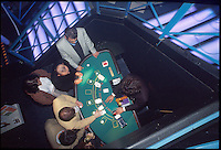 giocatori e croupier, black jack