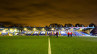 A general view of Gigg Lane, home of Bury FC<br /> <br /> Photographer Alex Dodd/CameraSport<br /> <br /> The EFL Checkatrade Trophy Group B - Bury v Fleetwood Town - Tuesday 13th November 2018 - Gigg Lane - Bury<br />  <br /> World Copyright &copy; 2018 CameraSport. All rights reserved. 43 Linden Ave. Countesthorpe. Leicester. England. LE8 5PG - Tel: +44 (0) 116 277 4147 - admin@camerasport.com - www.camerasport.com