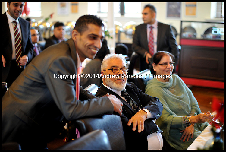 The wedding of Arfan and Anisa, Saturday 15th February 2014. Picture by Andrew Parsons / i-Images