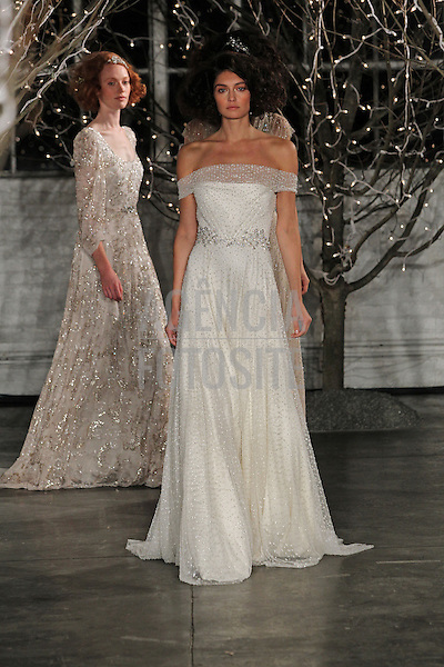 Nova Iorque, EUA &ndash; 10/2013 - Desfile de Jenny Packham durante a Semana de Moda Noiva - Inverno 2014. <br /> Foto: FOTOSITE
