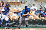 Trayce Thompson of  Chicago Cubs ,during Cactus League ,Cubs vs Dodgers. Spring Trainig 2013..Camelback Ranch  in Arizona. February 25, 2013 ...© stringer/NortePhoto