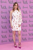 Rosie Fortescue<br /> arriving for the V&A Summer Party 2018, London<br /> <br /> ©Ash Knotek  D3410  20/06/2018