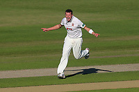 Peter Siddle of Essex celebrates taking the wicket of Josh Tongue during Worcestershire CCC vs Essex CCC, Specsavers County Championship Division 1 Cricket at New Road on 13th May 2018
