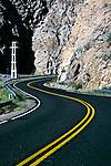 Estrada Ruta 7 no Vale do Aconcágua. Mendoza. Argentina. 2009. Foto de Cris Berger.