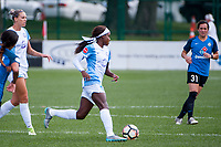 Kansas City, MO - Wednesday August 16, 2017: Chioma Ubogagu during a regular season National Women's Soccer League (NWSL) match between FC Kansas City and the Orlando Pride at Children's Mercy Victory Field.