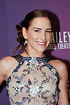 """Dancer Abigail Simon arrives at the Alvin Ailey American Dance Theater """"Modern American Songbook"""" opening night gala benefit at the New York City Center on November 29, 2017."""