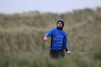 Fionn Hickey (Muskerry) on the 13th tee during Round 2 of the Ulster Boys Championship at Portrush Golf Club, Portrush, Co. Antrim on the Valley course on Wednesday 31st Oct 2018.<br /> Picture:  Thos Caffrey / www.golffile.ie<br /> <br /> All photo usage must carry mandatory copyright credit (&copy; Golffile | Thos Caffrey)