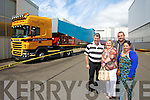 John Joe Clifford, Mary Clifford, Liz Clifford and Tim Clifford from Castlemaine and Killorglin enjoying the Liebherr Cranes open day on Sunday