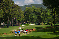 Olivia Mahaffey (a)(NIR), Catriona Matthew (SCT), and Peiyun Chien (TAI) head down 2 during round 1 of the U.S. Women's Open Championship, Shoal Creek Country Club, at Birmingham, Alabama, USA. 5/31/2018.<br /> Picture: Golffile | Ken Murray<br /> <br /> All photo usage must carry mandatory copyright credit (&copy; Golffile | Ken Murray)