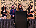 Las Vegas 02-12-2020: Reid Boxing inaugural Professional Boxing Weighin, at the Westgate Las Vegas with 5 exciting cards