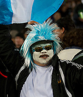 Rugby World Cup Auckland  New Zealand v Argentina Quarter Final 4 - 09/10/2011.  Argentinian fan before the match.Photo Frey Fotosports International/AMN Images