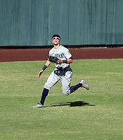 Braden Bishop - Peoria Javelinas - 2017 Arizona Fall League (Bill Mitchell)