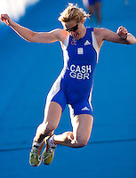 09 SEP 2009 - SOUTHPORT, AUS - Lucy Cash (GBR) - World Aquathlon Championships (PHOTO (C) NIGEL FARROW)
