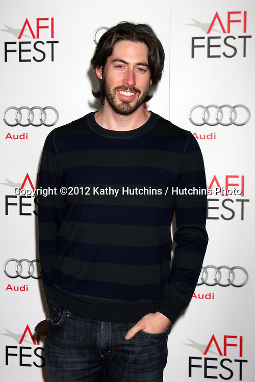 """LOS ANGELES - NOV 2:  Jason Reitman arrives at the AFI Film Festival 2012 """"Life of Pi"""" Screening at Los Angeles on November 2, 2012 in Graumans Chinese Theater, CA"""