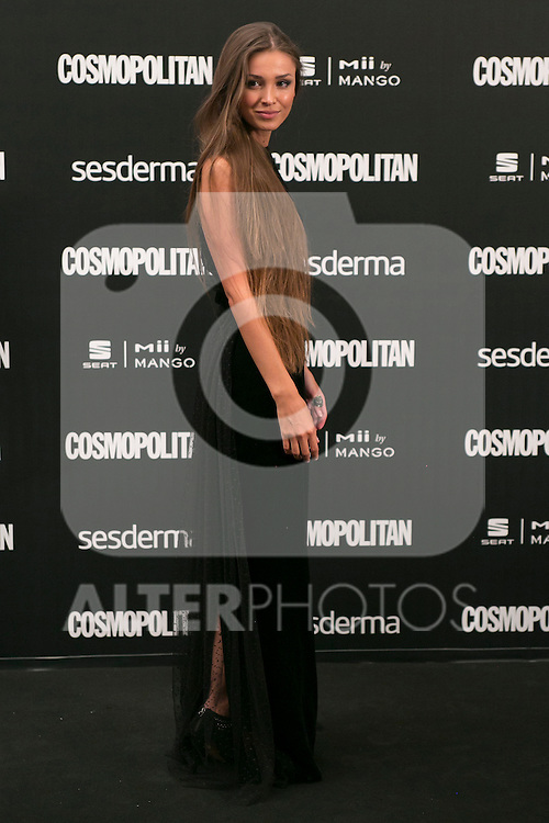 Lara Leyton attend the photocall of the Cosmopolitan Fun Fearless Female 2014 Awards at the Ritz Hotel in Madrid, Spain. October 20, 2014. (ALTERPHOTOS/Carlos Dafonte)