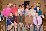 Kevin Walsh, Casements Avenue Tralee, Celebrates his 70th Birthday with family and Friends at Stokers Lodge on Saturday