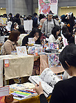 November 23, 2014, Tokyo, Japan - Japanese manga enthusiasts visits the International Manga Festival in Tokyo on Sunday, November 23, 2014. The manga festa provides a platform within Japan where people who have an interest in manga culture can freely exchange their opinions and ideas. (Photo by Natsuki Sakjai/AFLO) AYF -mis-