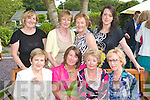 Having Fun at a Garden party in aid of the Hospice at Ballygarry house hotel on Sunday were Front from left: Helen O'Hara, Mary Doherty, Judy Leahy and Bridie Sweeny. Back row from Left: Noreen DeLacy, Marian Fitzgerald, Kathy Lyons and Grainne DeLacy.