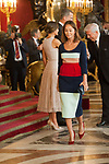 Isabel Preysler attends to Sapnish National Day palace reception at the Royal Palace in Madrid, Spain. October 12, 2018. (ALTERPHOTOS/A. Perez Meca)